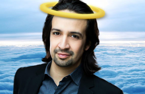 lin manuel miranda angel