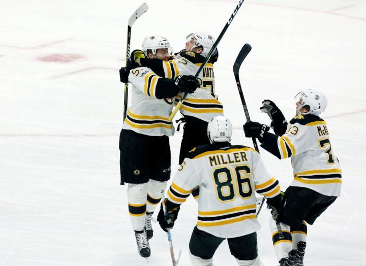 Bruins Senators Hockey