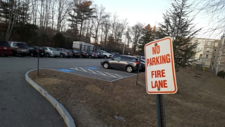 UMass D Parking by Zachary Downing